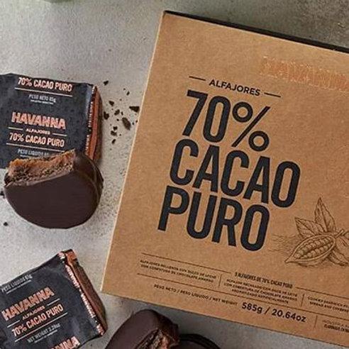 Alfajor Cacao 70%