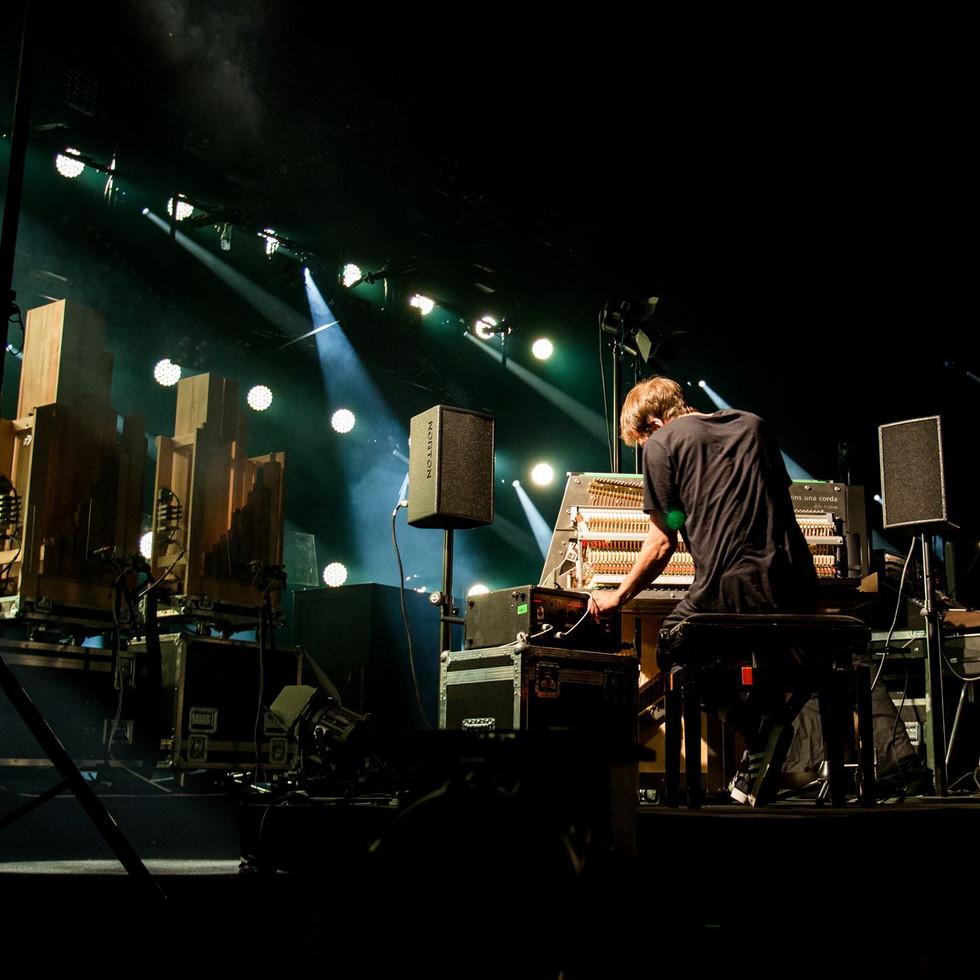 Nils Frahm @ Montreux Jazz 15