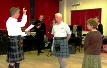 Rediscovering old dances