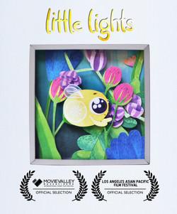Little Lights paper cutting art