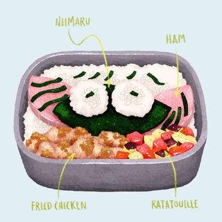 Homemade Niimaru Bento by Saito Kyoko for Spring Holiday Season DekoBen Championship