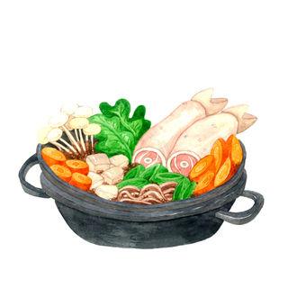Sukiyaki Set B