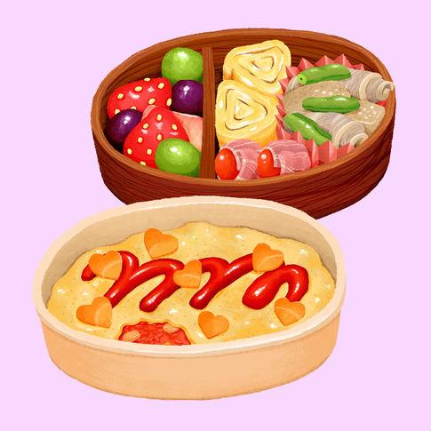 Salaryman Bento by Shiraishi Mai for Best Bento Grand Prix