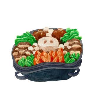 Sukiyaki Set A