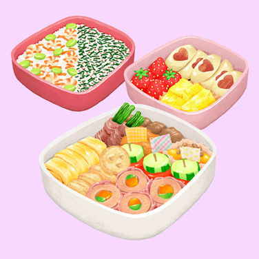 Picnic Bento for Sharing by Saito Yuri for Best Bento Grand Prix