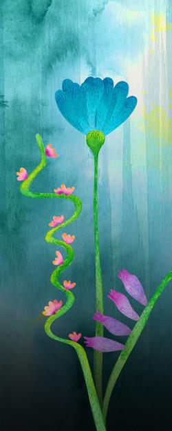 concept art of watercolor treatment