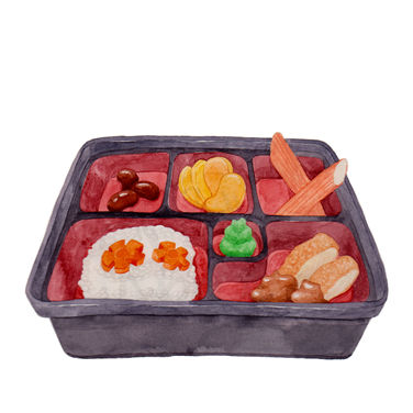 Bento with Ridiculous Servings E