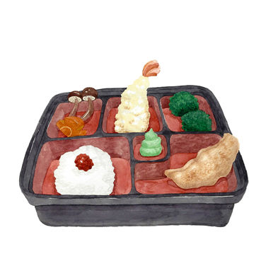 Bento with Ridiculous Servings A