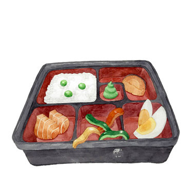 Bento with Ridiculous Servings B