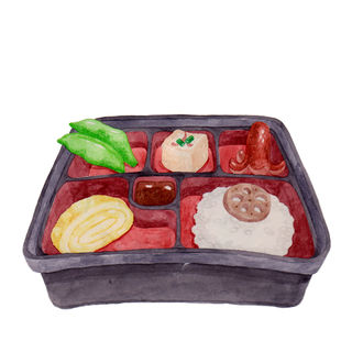Bento with Ridiculous Servings D