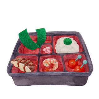 Bento with Ridiculous Servings C