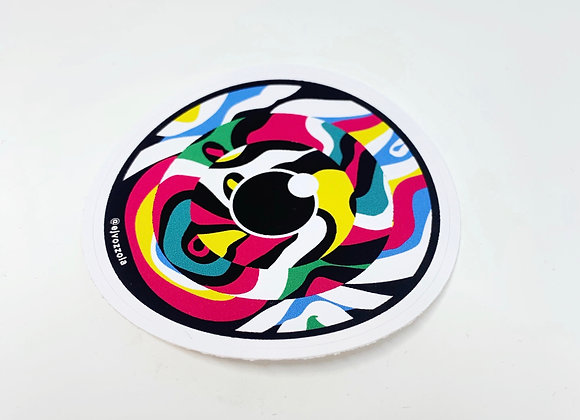 Eric Vozzola - Wavy Eye Sticker