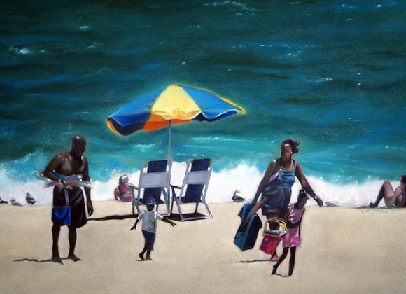 Donald Corpier-Starr - Day at the Beach