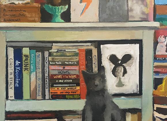 Wade Schuster - Altar, Bookshelf