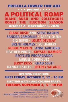 A Political Romp - Exhibition