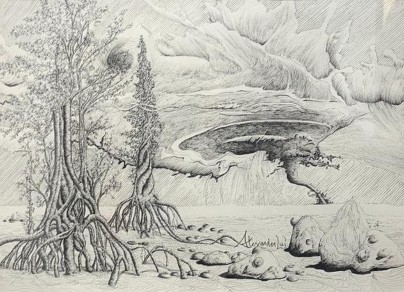 Alexander Lui - Contemplation on Vortices