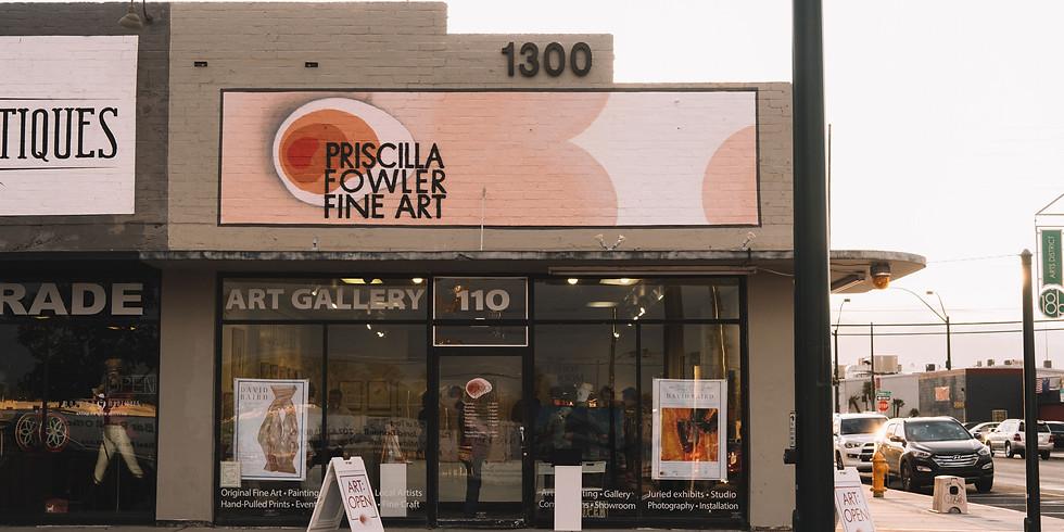 Live Art Night! Priscilla Fowler Gallery Fundraiser