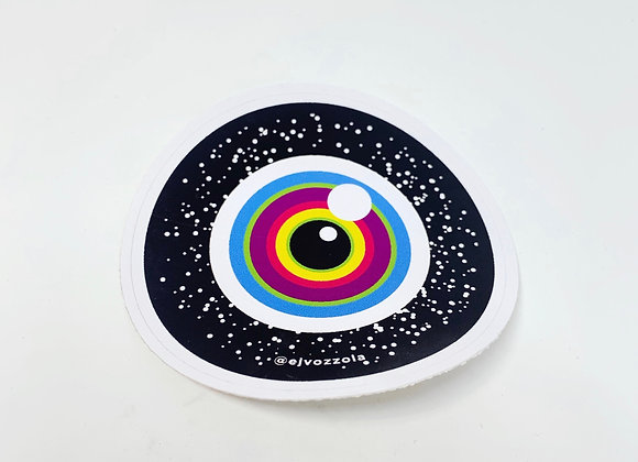 Eric Vozzola - Cosmic Eye Sticker