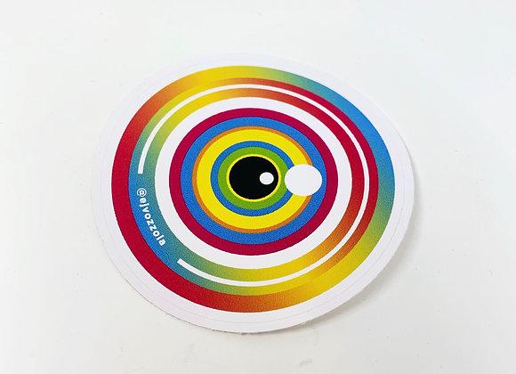 Eric Vozzola - Sunset Eye Sticker