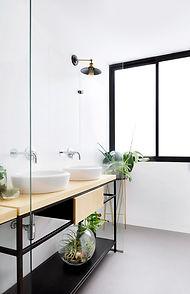 reforma de cuarto de baño moderno