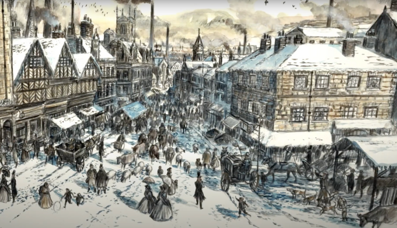 A Christmas Carol (Bunting Animation)
