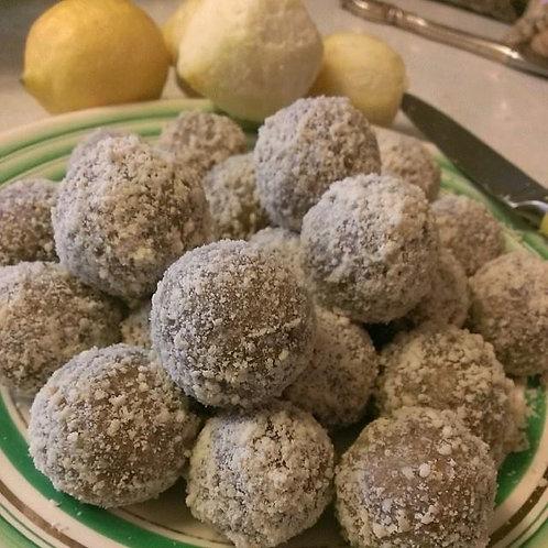 "Lemon ""Cookie Dough"" Balls"