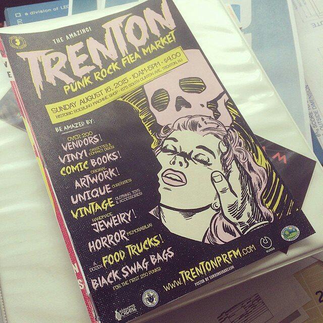 Trenton Punk Rock Flea Art