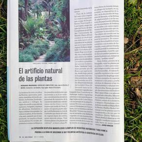 El artificio natural de las plantas [Javier Arnaldo. El Cultural. El Mundo. 24 de Enero del 2020]