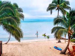 Beach at Mangata Villas