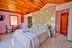 Interior of private casita at Mangata Villas