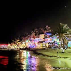 View of San Pedro Town at Night