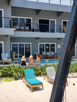Enjoy the pool at Mangata Villas