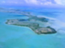 Aeria view of Ambergris Caye
