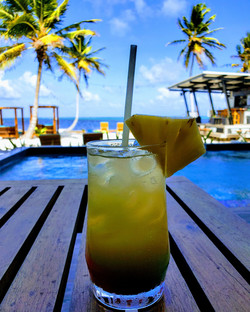 Delicous poolside drinks from Moon Bar