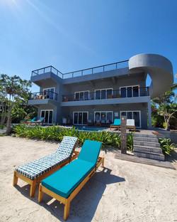 View of Mangata Villas - Beachfront Villas