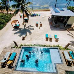 Learning to scuba dive at Mangata Villas