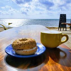 Hungry? Visit Moon Bar on the beach at Mangata Villas
