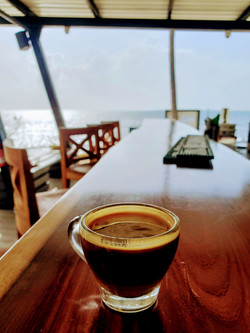 Need an espresso? Moon Bar serves specialty coffees