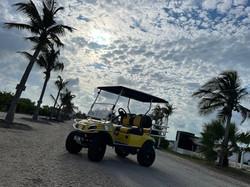 Rent a golf cart to explore San Pedro