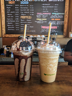 Flight Cafe Frappes