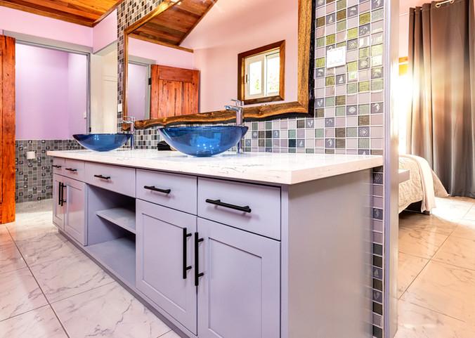 Casita Bathroom - double vanity