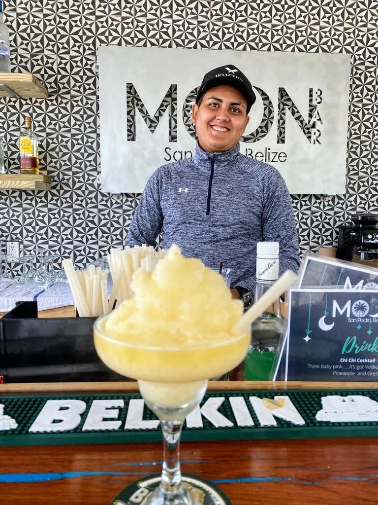 Meet our bartender/chef! Enjoy an extra tasty margarita!
