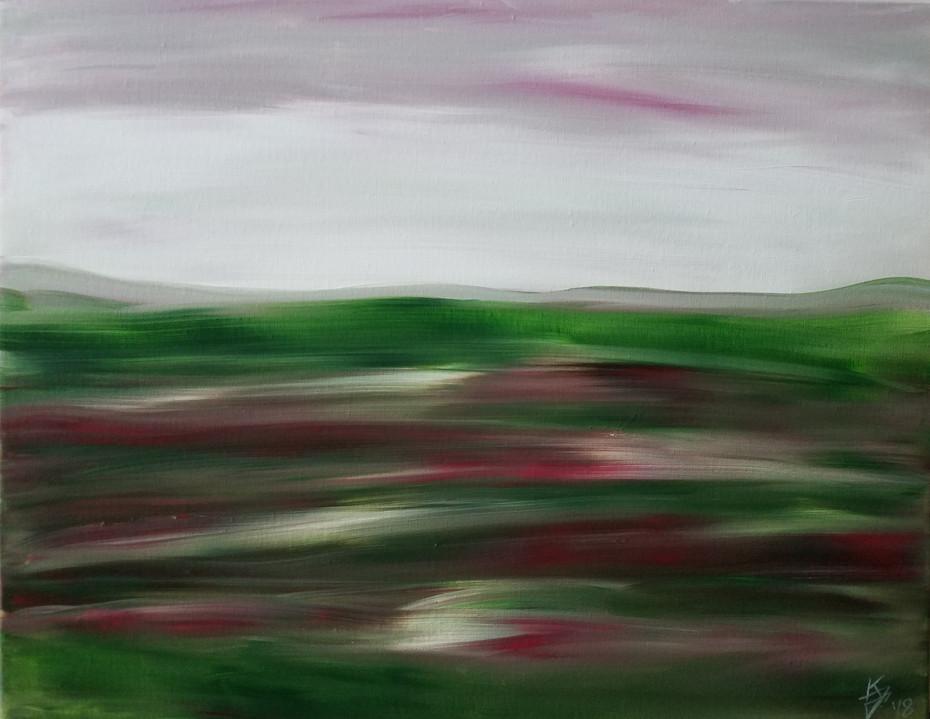 Green & Red Landscape 2