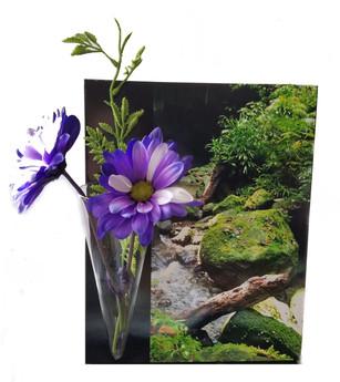 Dominican Moss flower vase
