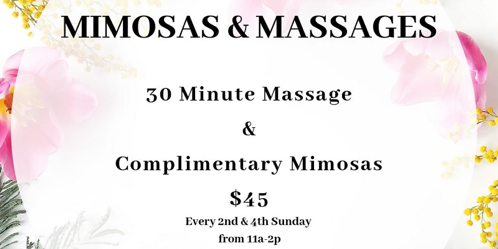 Mimosas & Massages
