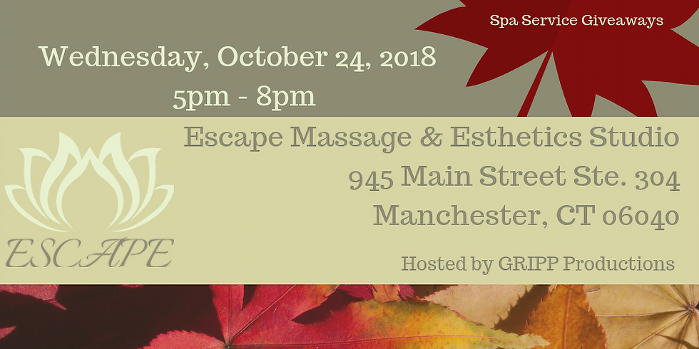 Fall Into Relaxation - GRAND OPENING EVENT
