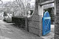 English Garden Gate