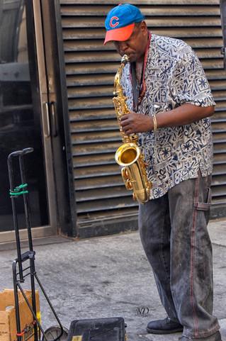 Jazz Man- Cub Fan - Color