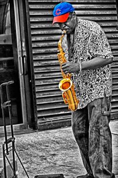 Jazz Man - Cub Fan