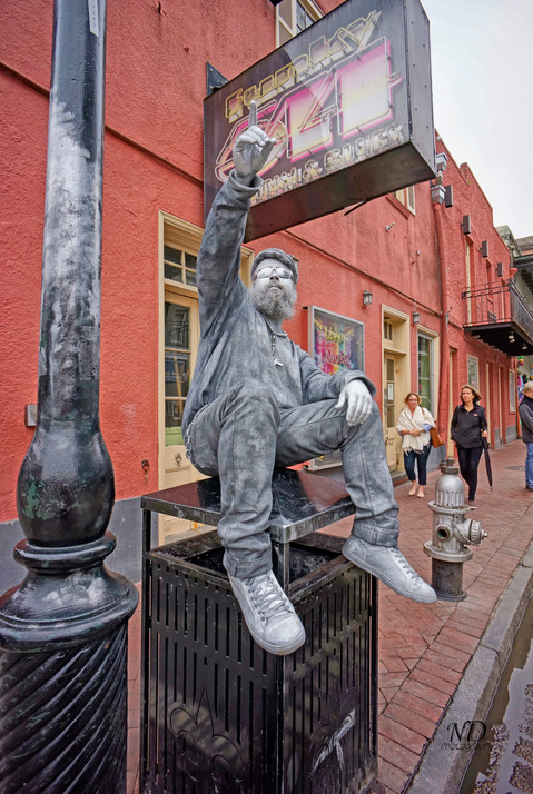 Street Artist - Silver Man